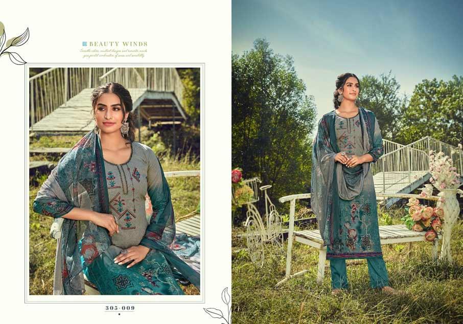 Amelia Cotton Dress Material Catalogue Set