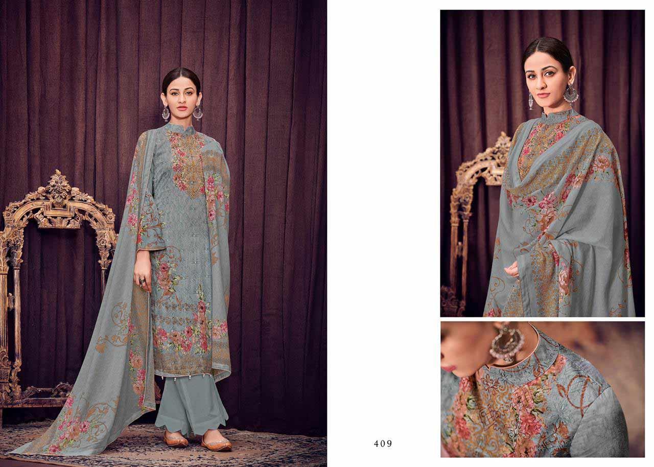 Mumtaz Arts Bunaai Digital Printed Salwar Kameez Collection