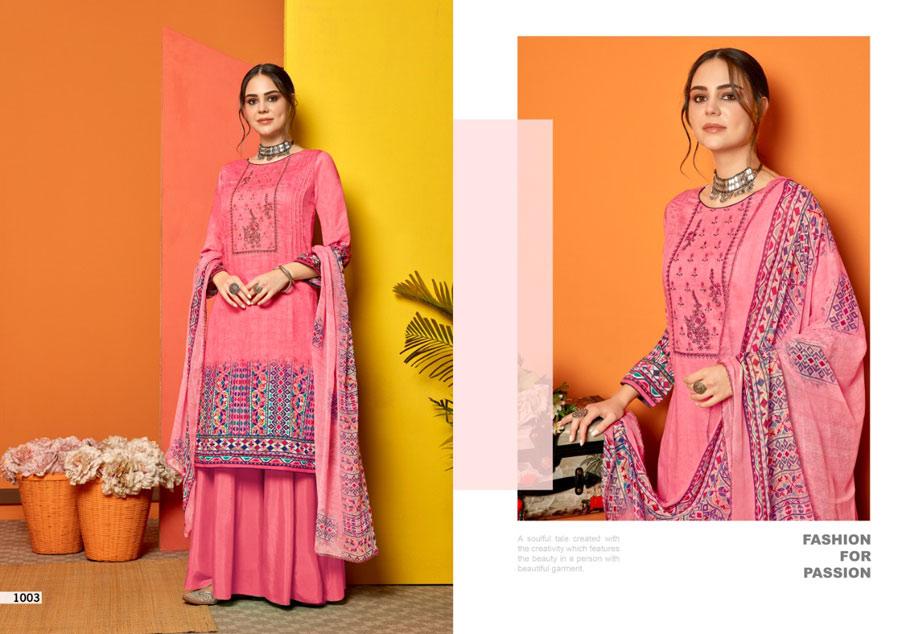 Falak Cotton Dress Material Set Wholeseller