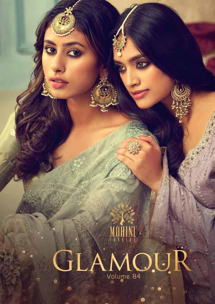 Glamour-84 chinnon Wholesale Salwar Kameez
