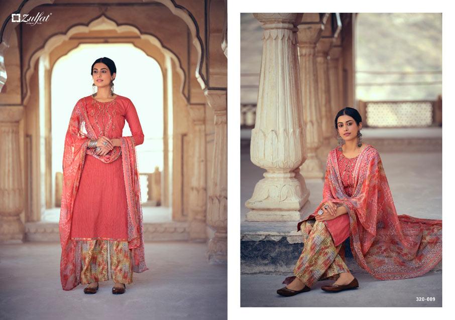 Jashn-e-Patiala Cotton Printed Dress Material Set