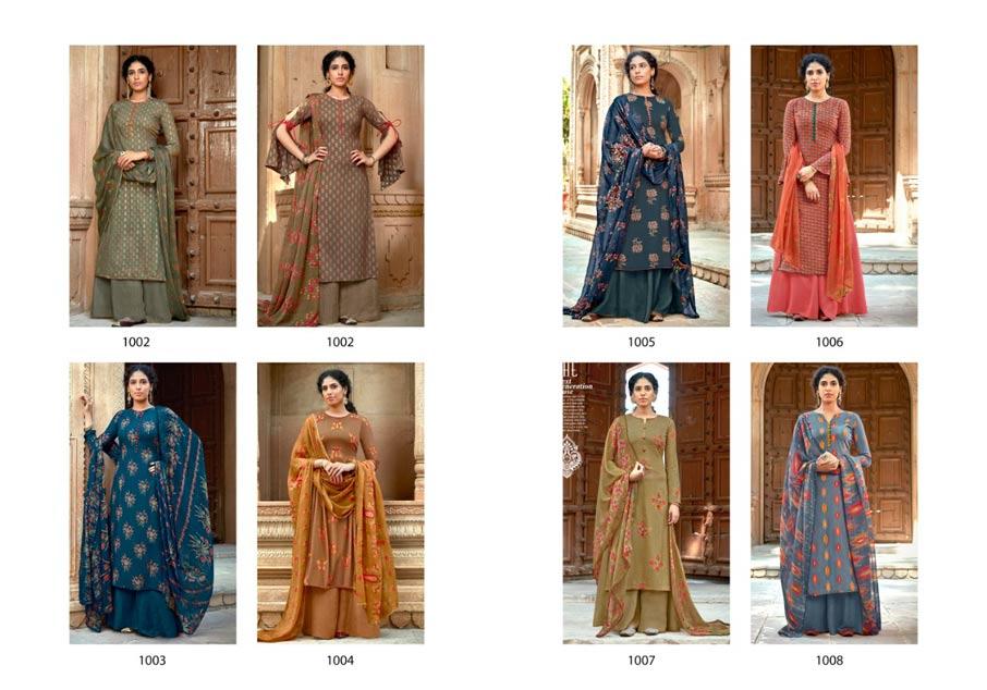 Kaveri Rayon Wholesale Dress Material Set