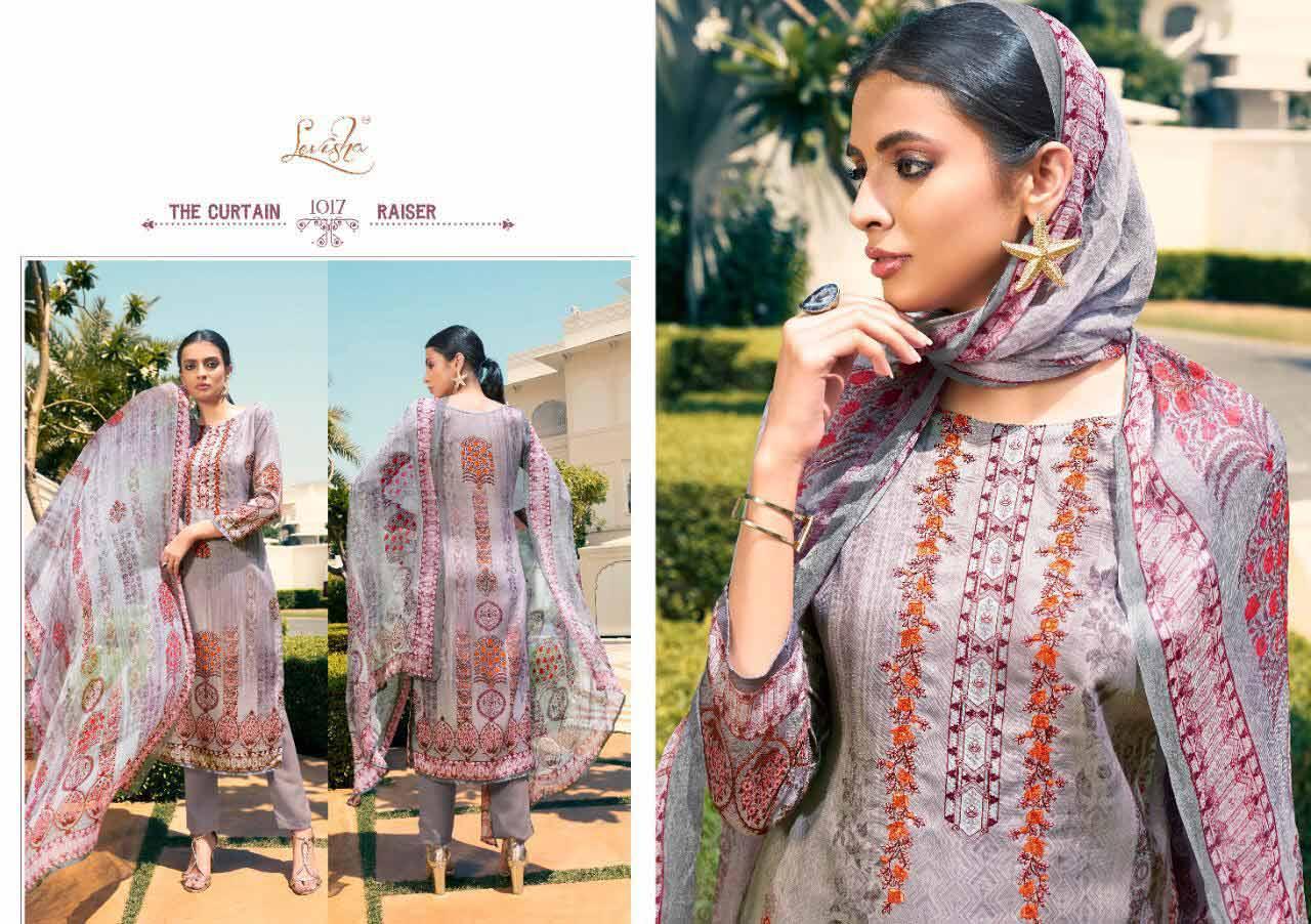 Mausin Levisha Pashmina Printed Dress Materials