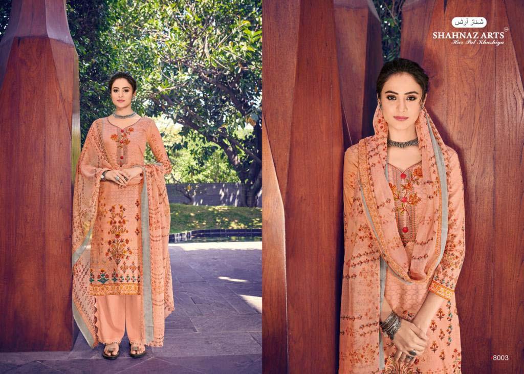 Shahnaz Arts Mihira Pure Cotton Salwar Suit Catalog