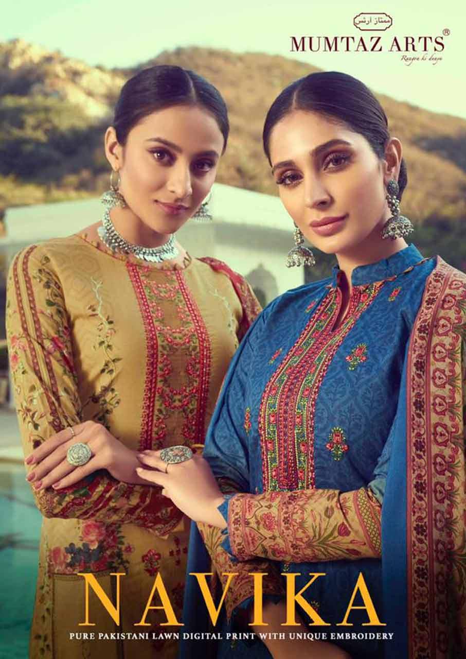 Mumtaz Navika Lawn Cotton Dresses