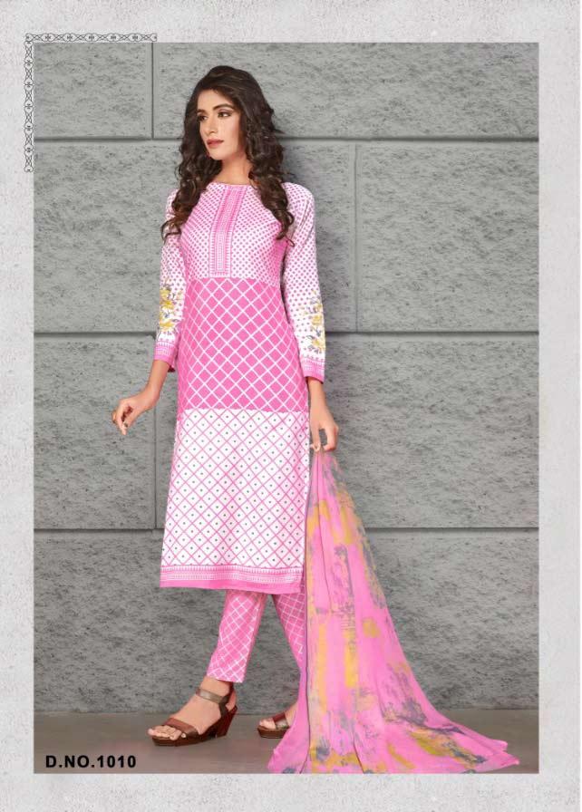 Rasbhari Soft Cottan Digital Style Dresses