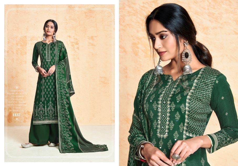 Ruhi Pashmina Printed Dress Material B2B Store