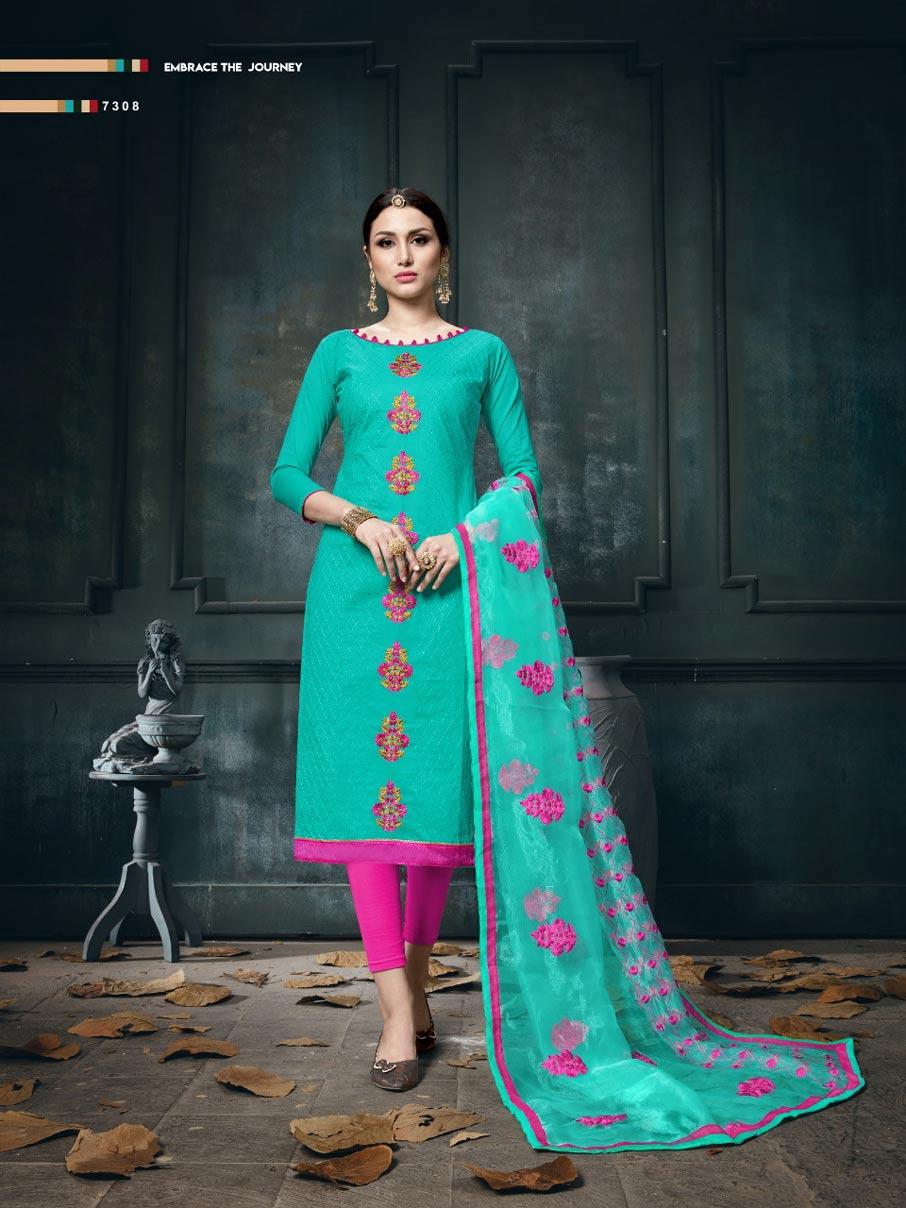 Sultana Micro Jam Cotton Dress Material Manufacturer