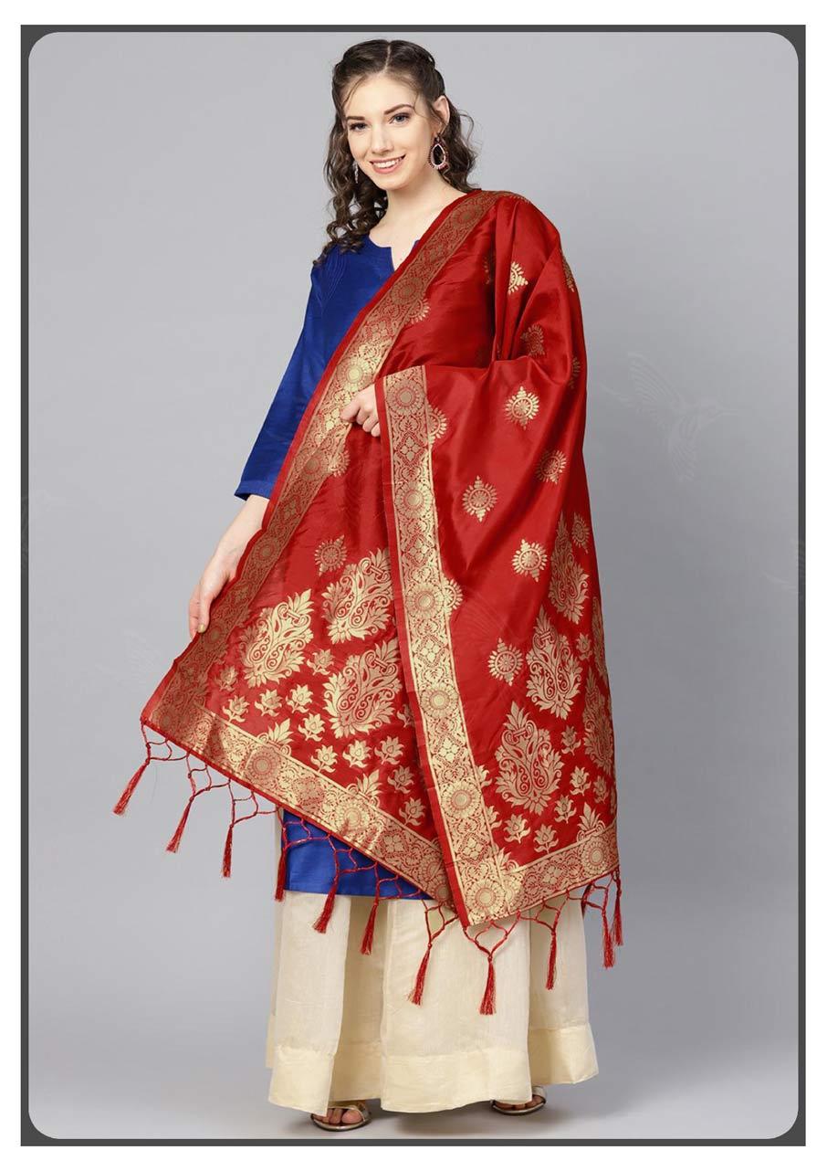 Banarasi Silk Wholesale Dupatta Set