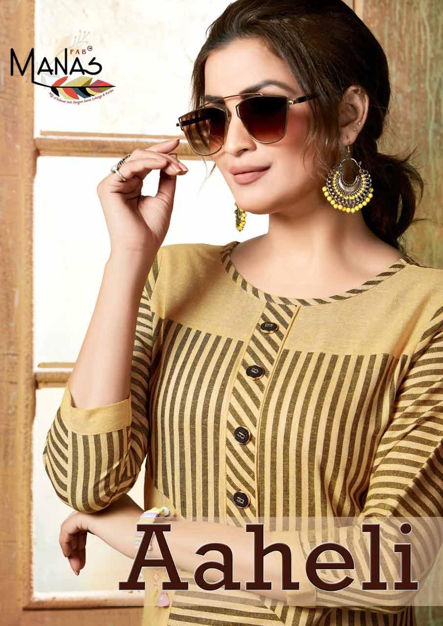 Aaheli Manas Handloom Cotton Wholesale Kurti Collection