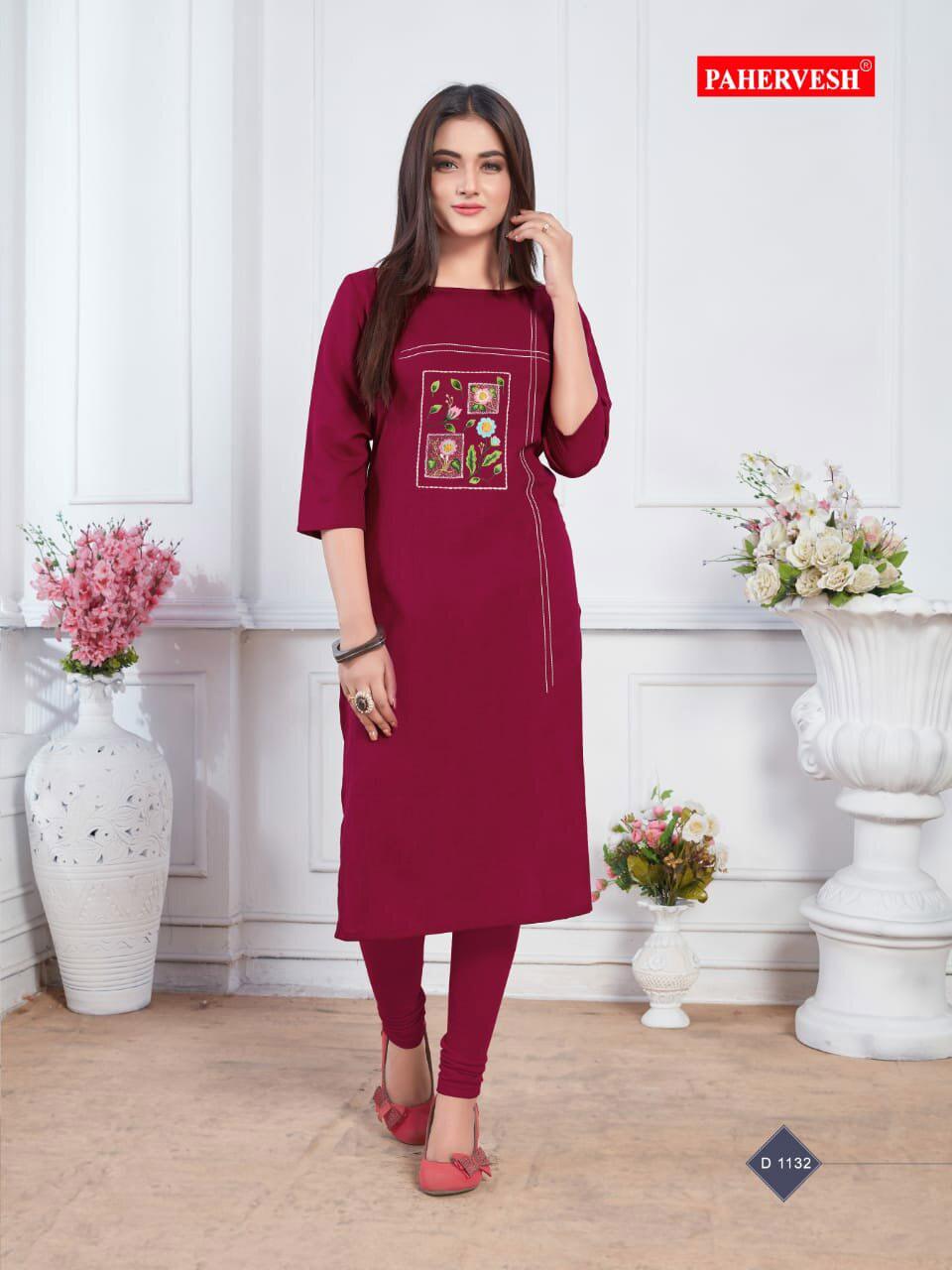 Albeli Pahervesh Fancy Cotton Kurti Supplier