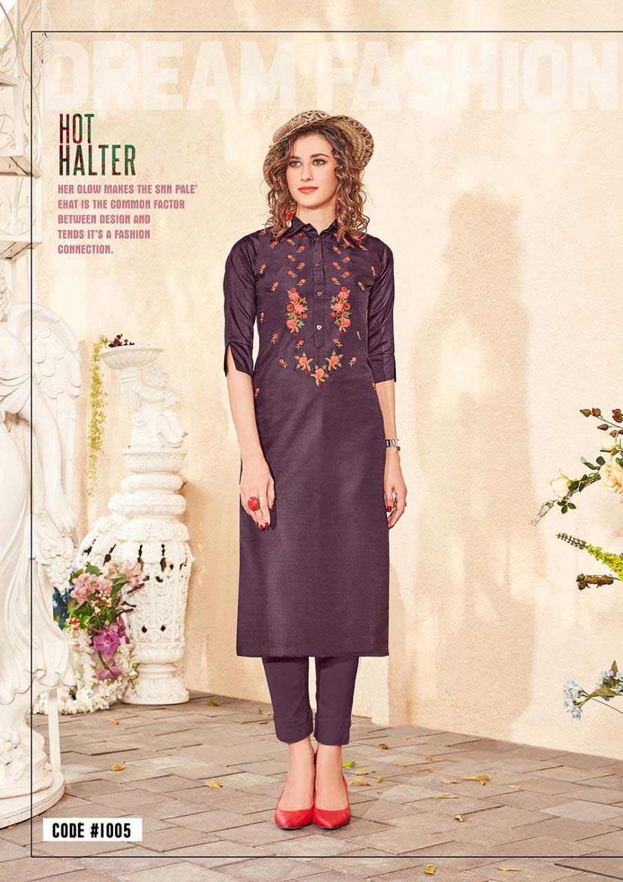 Riya Designer Amaya Zorba Silk Kurti Manufacturer