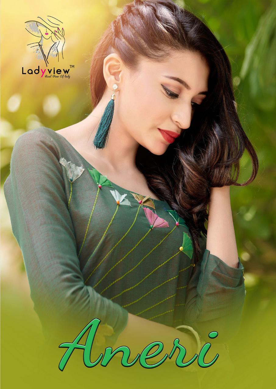 Ladyview Designer Aneri Anarkali Wholesale Kurti
