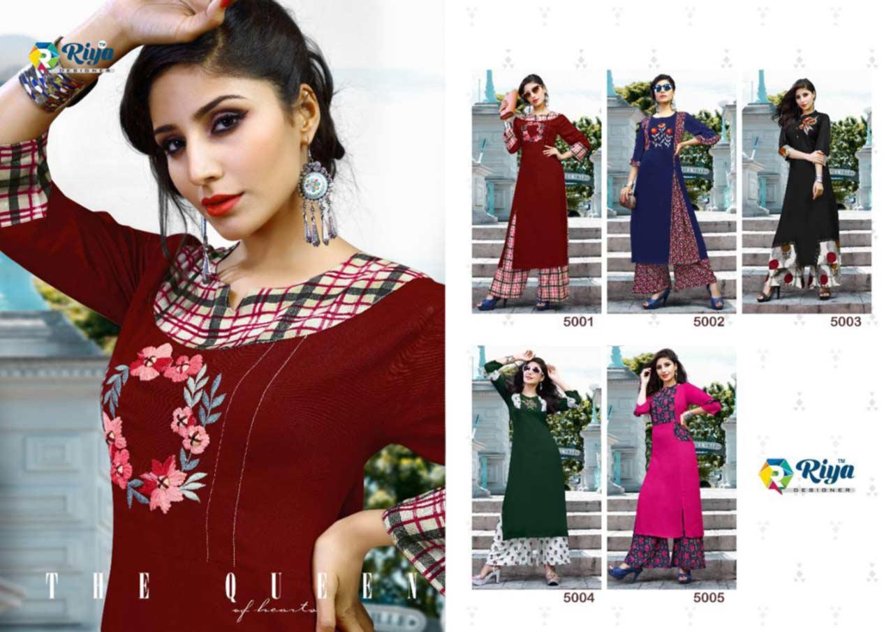 Riya Anokhi Handwork Kurti Set Wholesaler