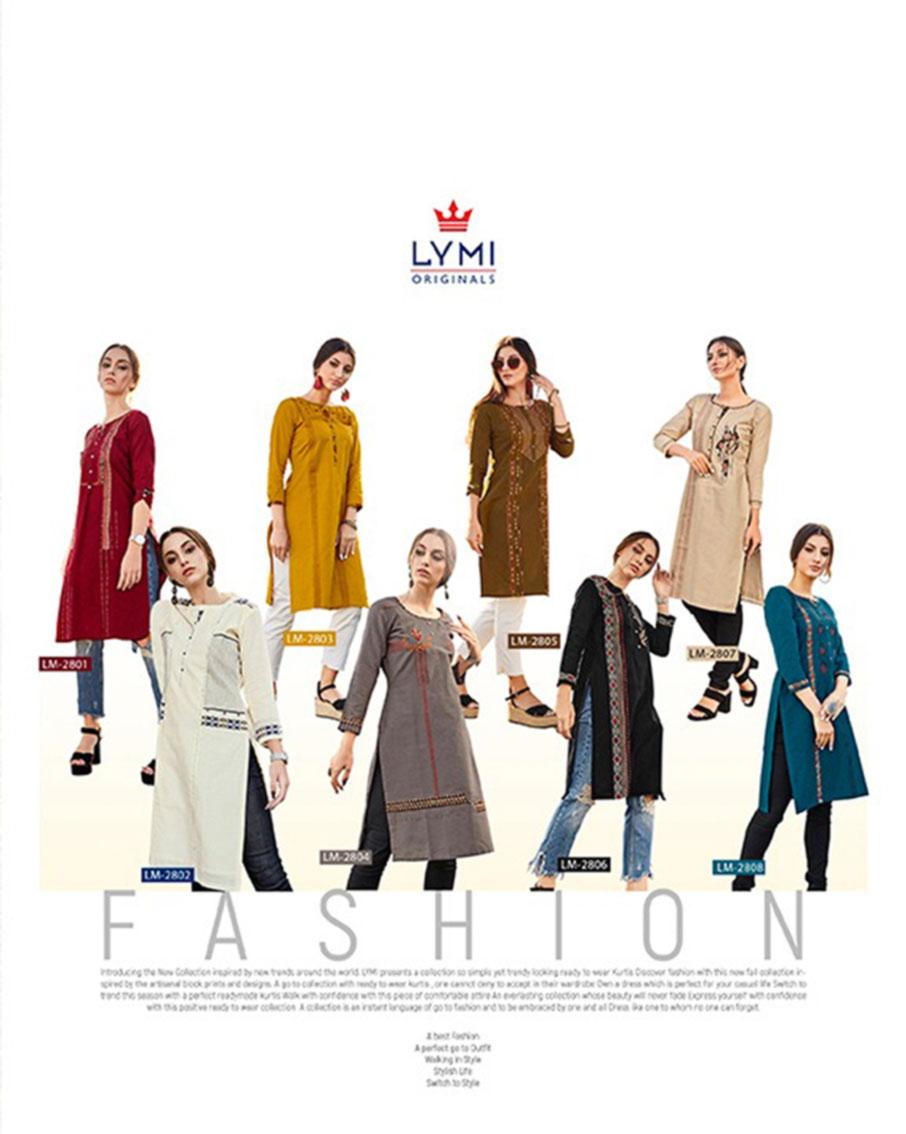 Lymi Avenue Value Added Print Kurti Set