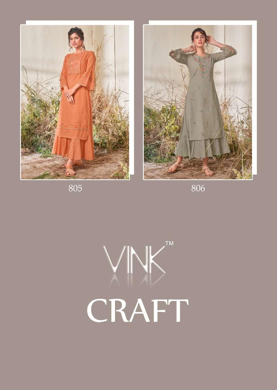 Craft Wholesale Cotton Printed Kurti Catalogue