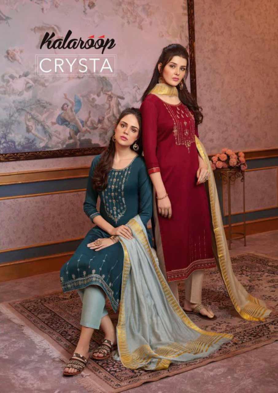 Crysta Jam Silk Readymade Clothing
