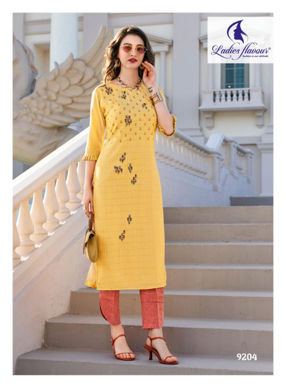 Ladies Flavour Erisha Lurex Kurti Manufacturer