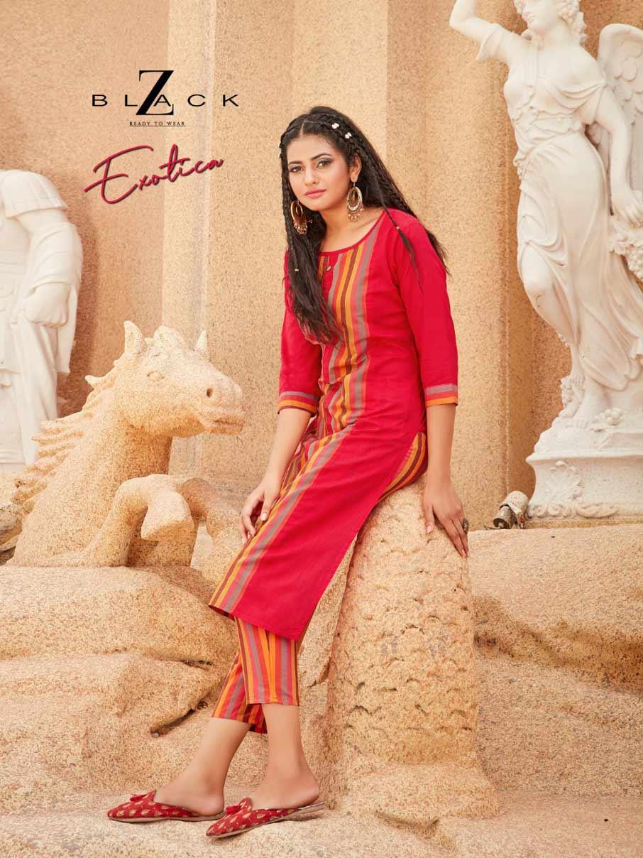 Exotics Soft South Cotton Kurti Catalog