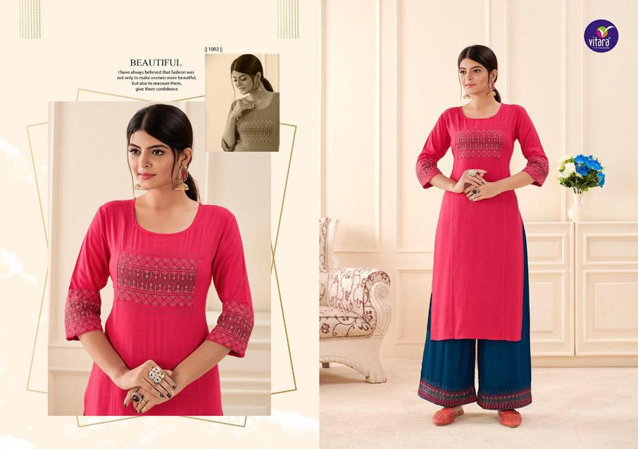 Mansi Fashion Floral Muslin Kurti Manufacturer
