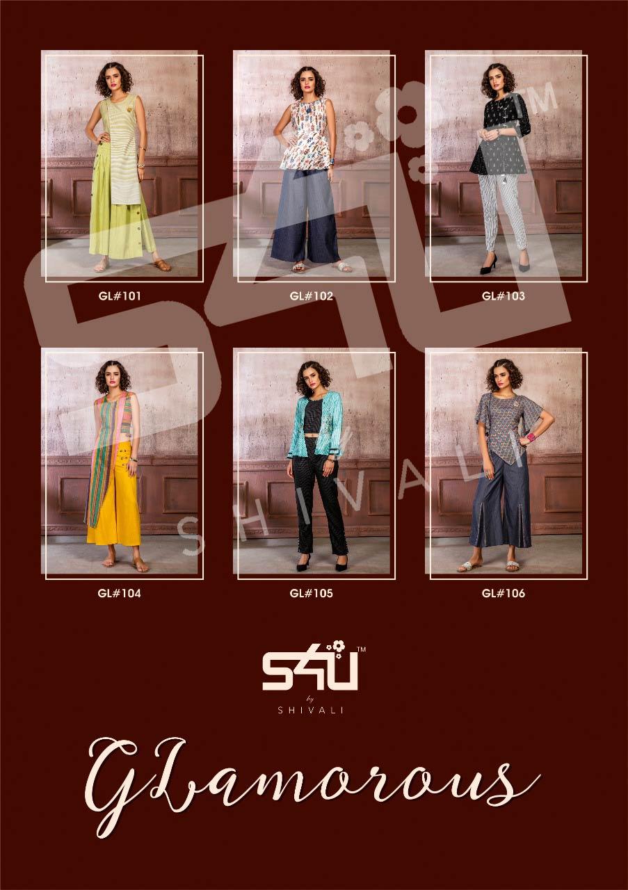 S4u By Shivali Glamorous Kurti With Pant And Plazzo