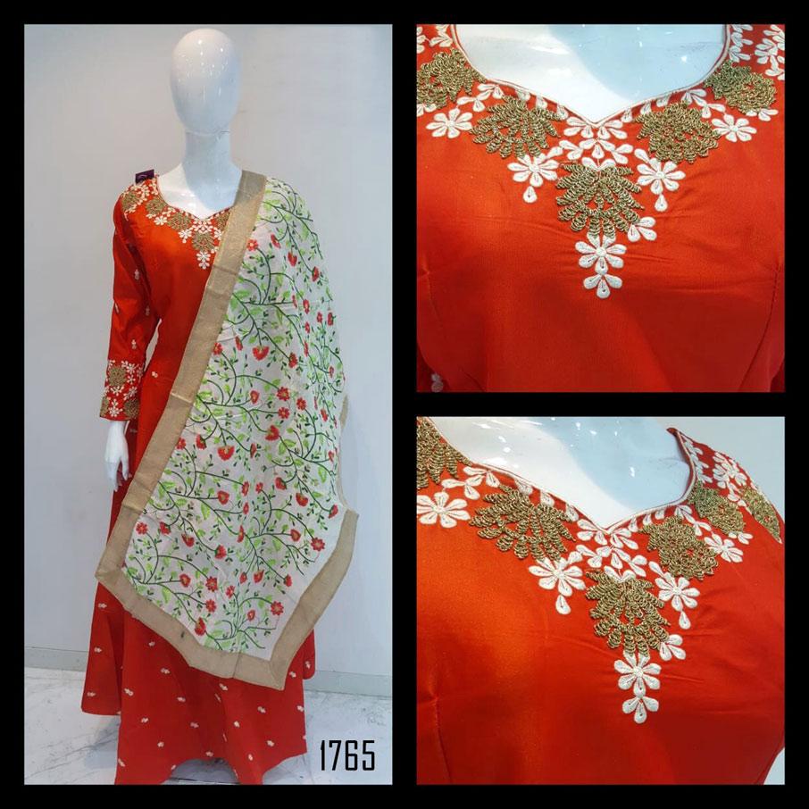 Fabfirki Heavy Handwork One Piece Gown Wholesaler