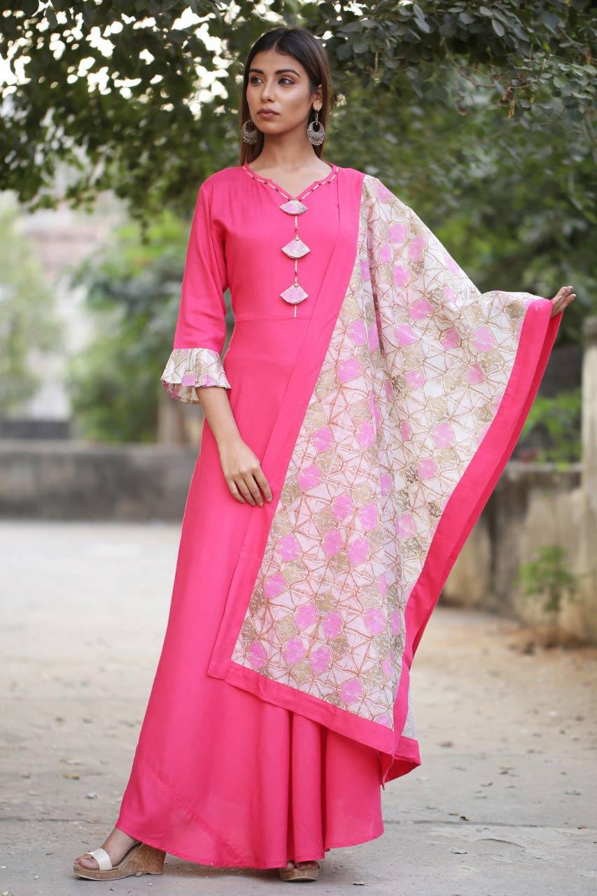 Handwork Clemira Anarkali Designer Long Wholesale Gown