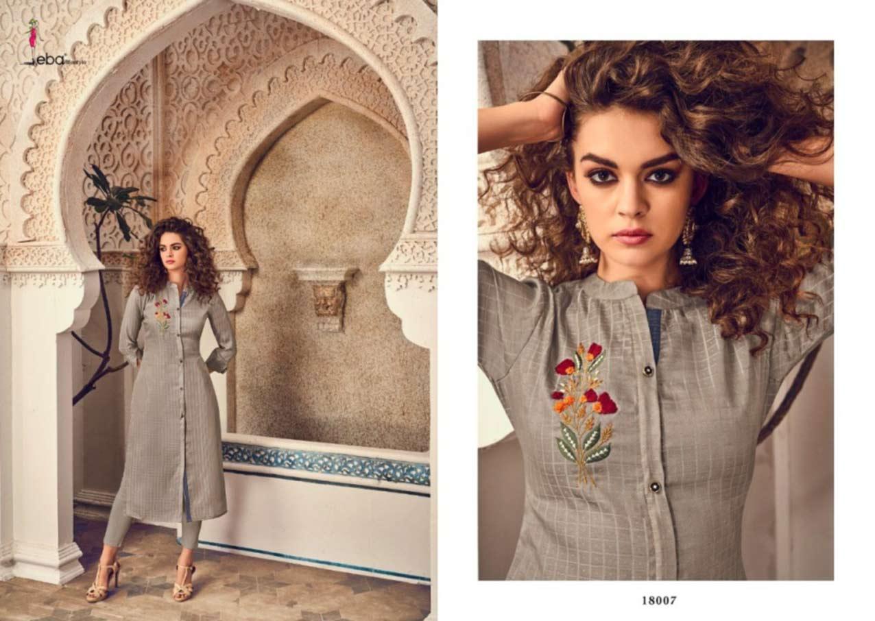 Eba Instagirl Hand Embroidery Kurti Supplier