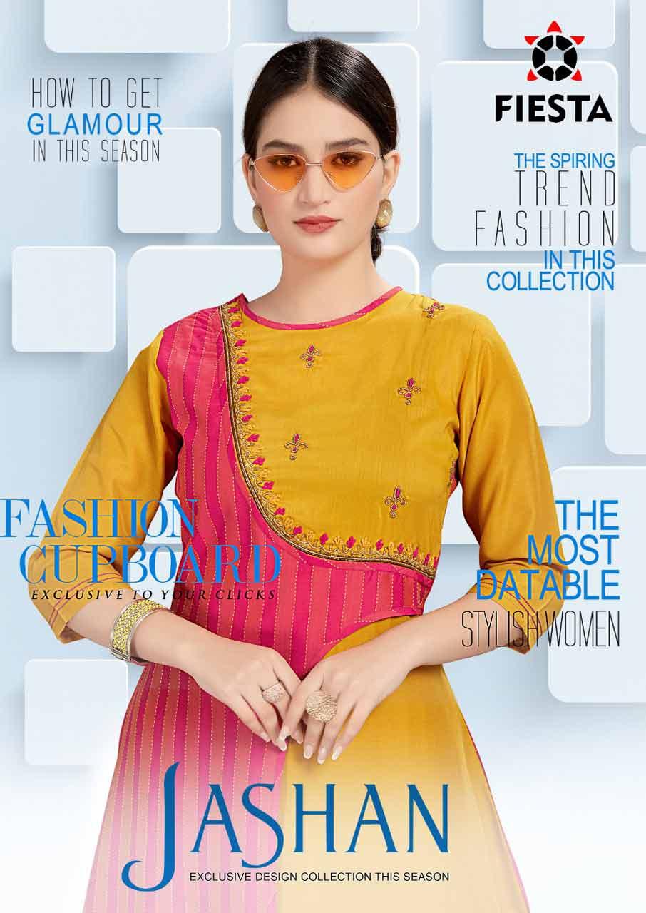 Jashan ArtRiddhs Cotton Spun Silk Palazzo Kurti