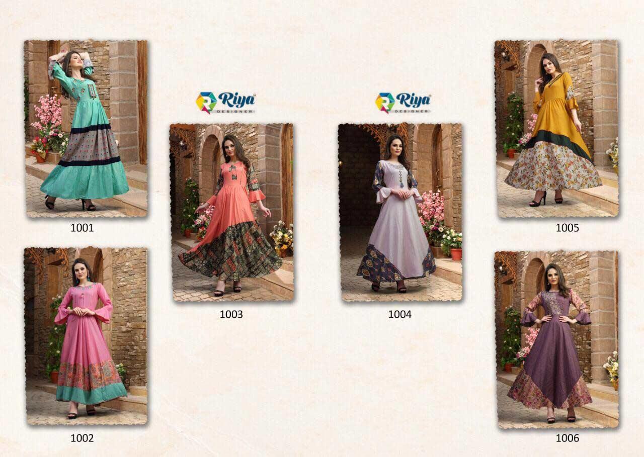 Kastur Riya Designer Exquisite Handwork Gown