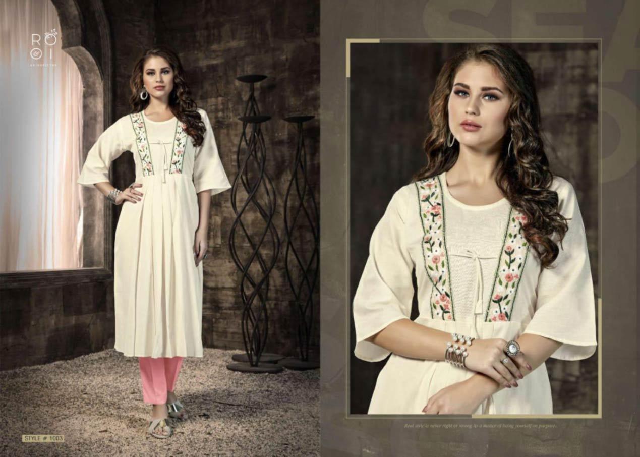 Kiara Cotton Flex Kurtis Catalog Set
