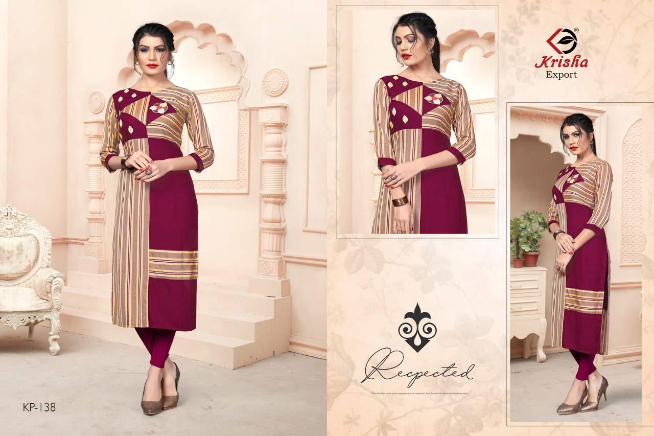 Leela Krisha Export Handloom Cotton Kurti Sets