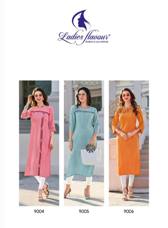Ladies Flavour Limelight Kurti Set Manufacturer