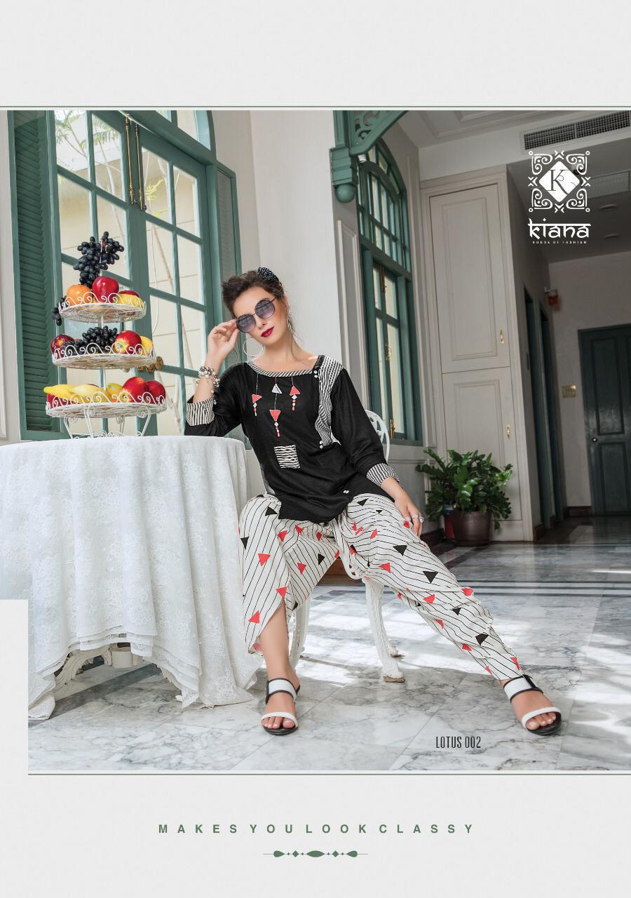 Lotus Kiana Dhoti Sharara Pant Palazzo Designer Kurti