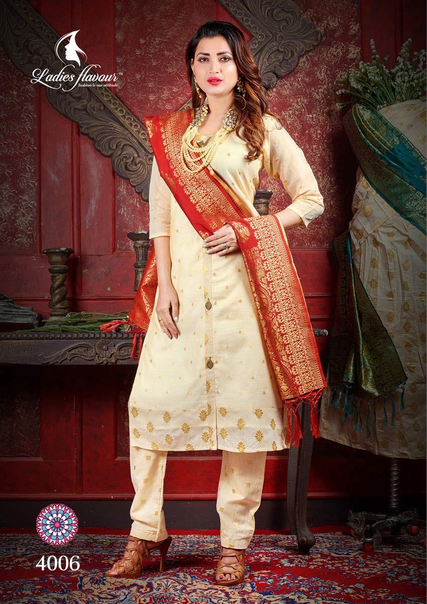 Manikarnika Ladies Flavour Chanderi Jacquard Kurti