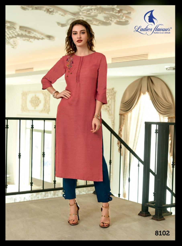 Ladies Flavour Mayra Kurti Set Manufacturer