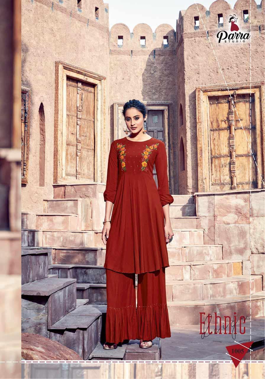 Naisaa Parra Studio Handmade Khatli Work Kurti
