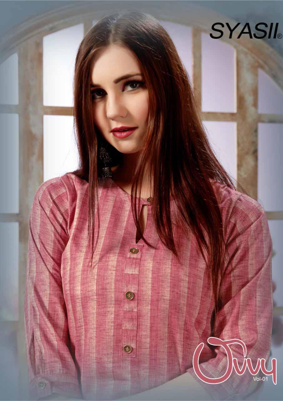 Ovvy Syasii Fancy Cotton Wholesale Kurti