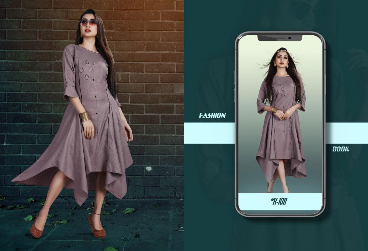 Panchi Tanish Fashion Ruby Cotton Wholesale Kurti
