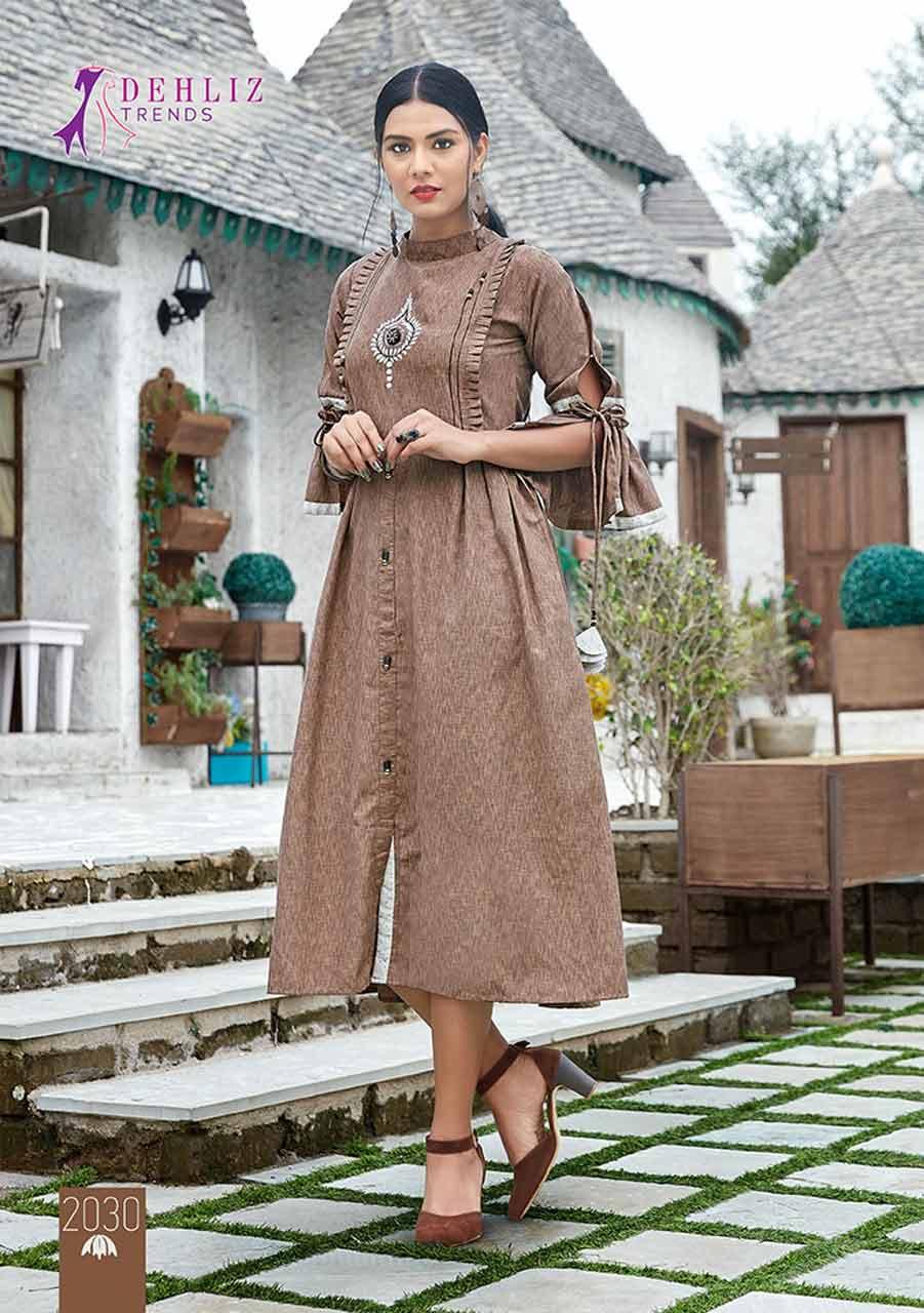 Dehliz Trends Paridhan Imported Fancy Kurti Sets
