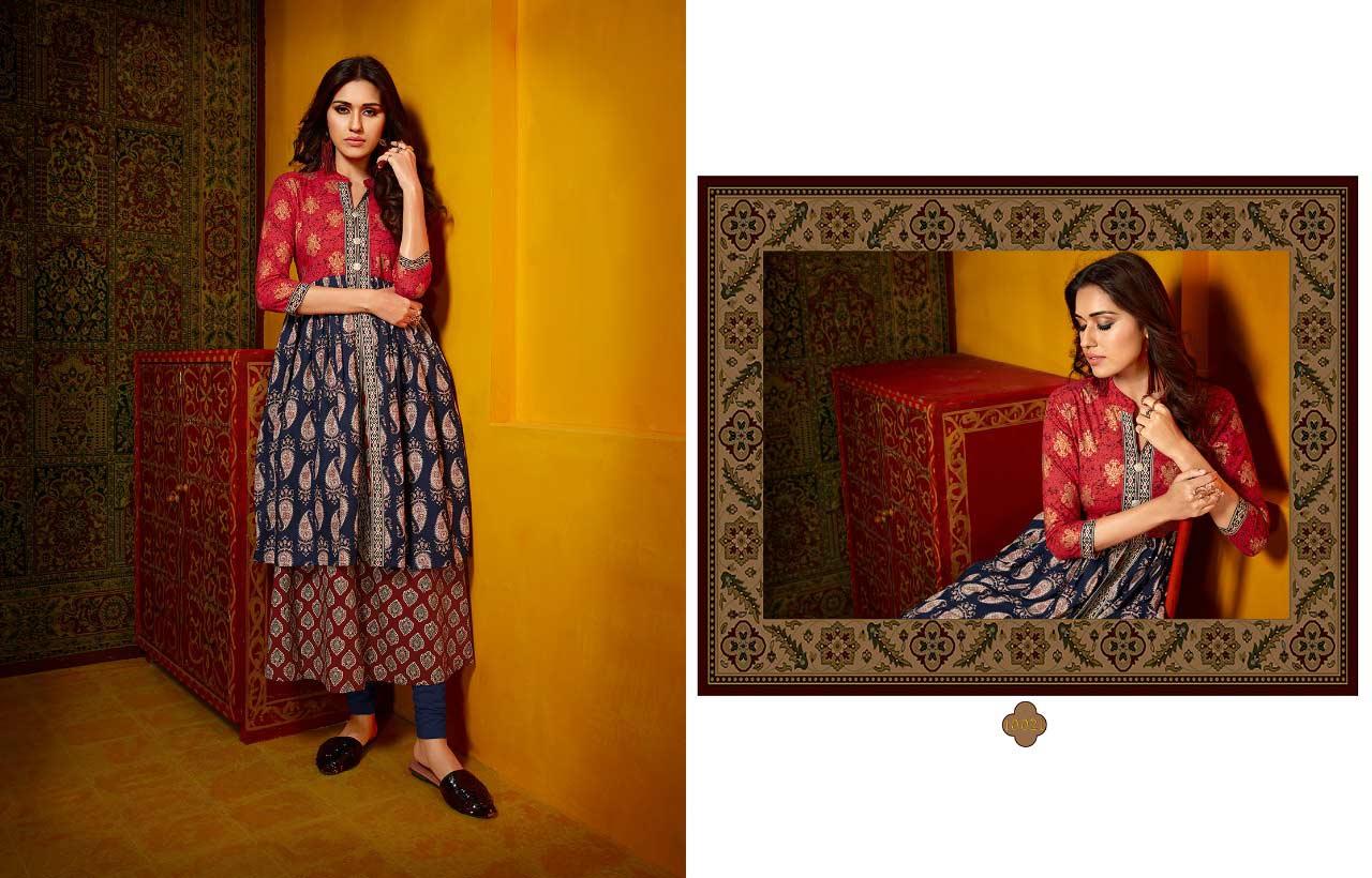 Rajdhani Kajree Cotton Printed Kurti Manufacturer