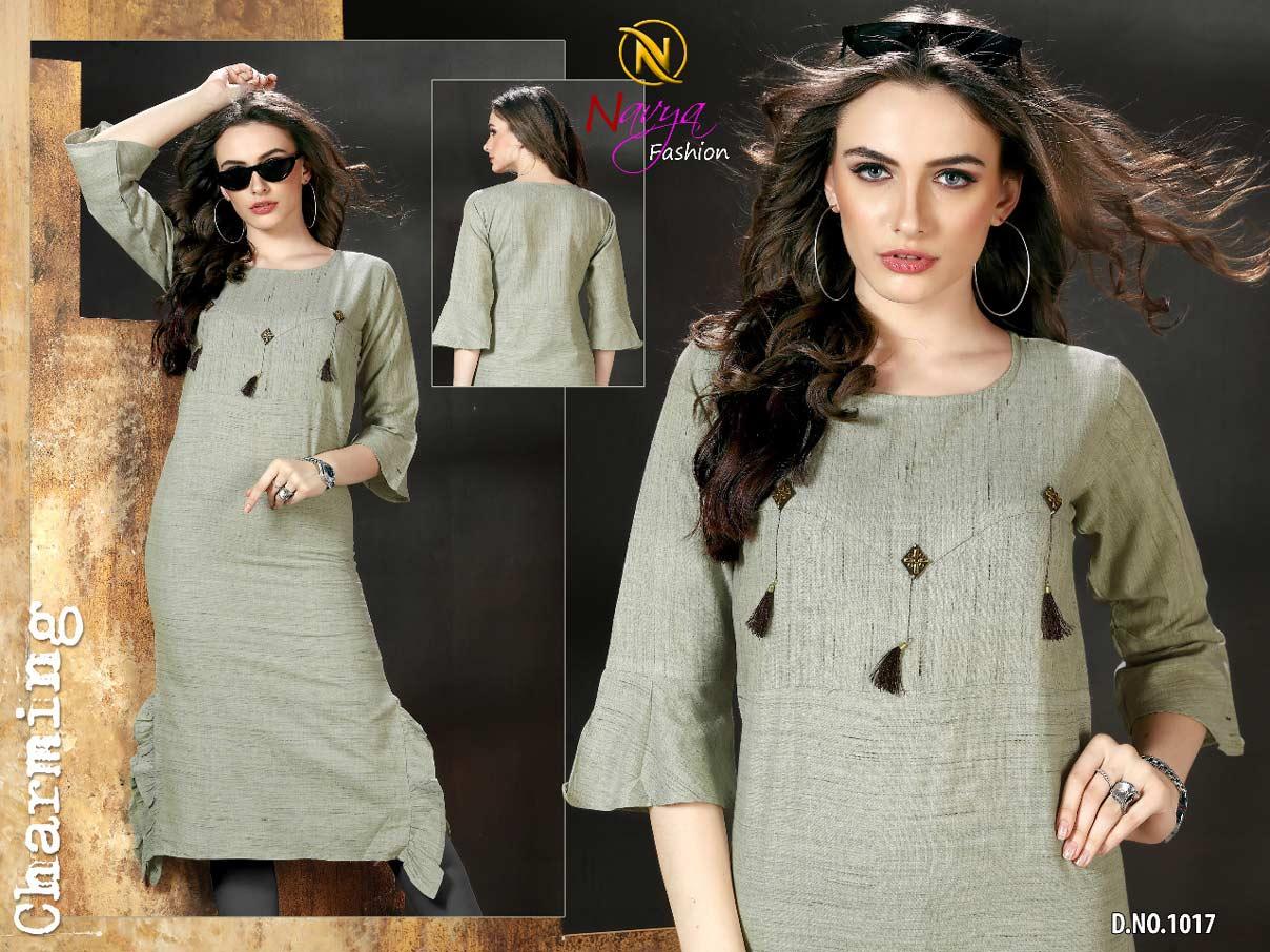 Rajkosh Navya Fashion Khadi Cotton Kurti Wholesalers