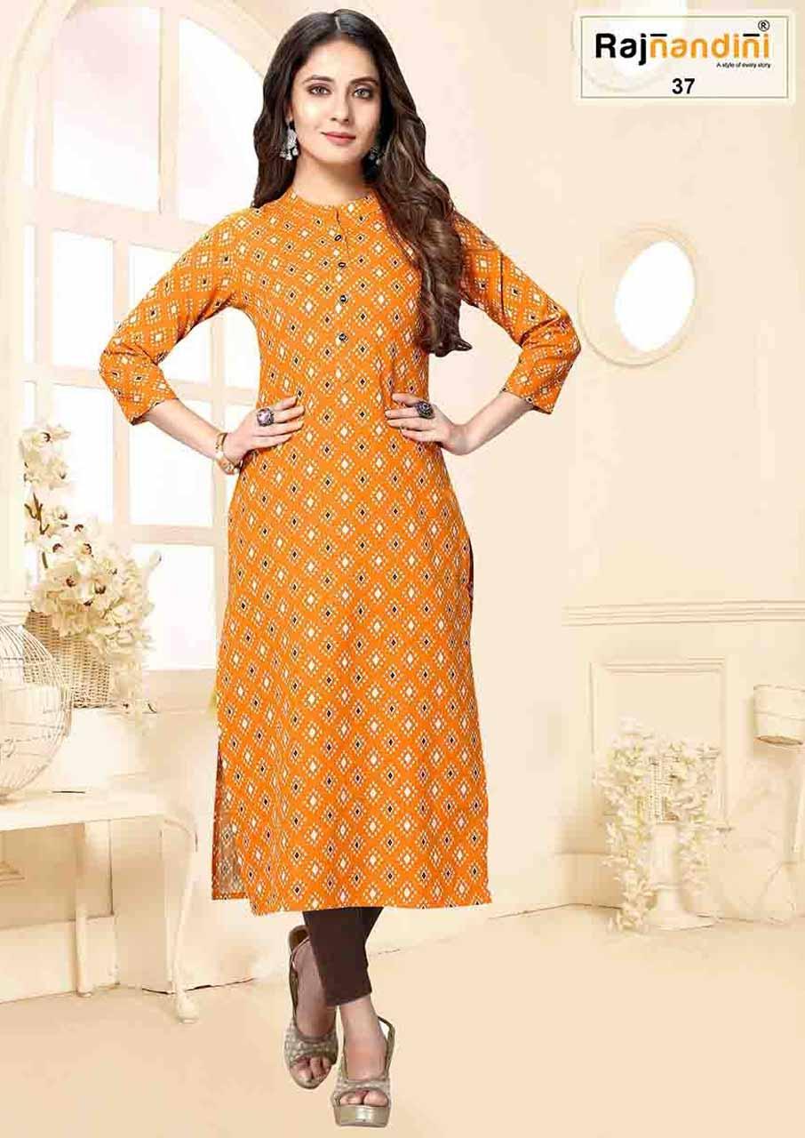 Rajnandini-6 Jaipuri Kurtis Catalogue Garment