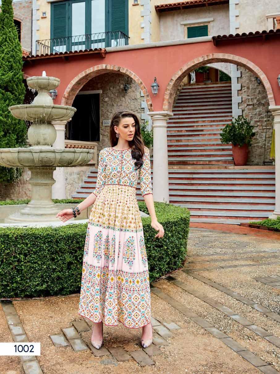 Rangreza Ladies Flavour Musline Digital Print Kurti