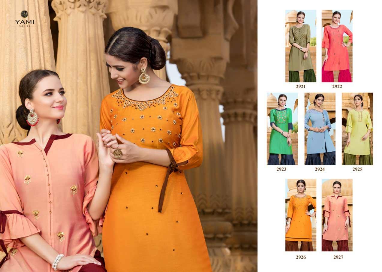 Rasam Yami Fashion Sharara Set Wholesale Kurta