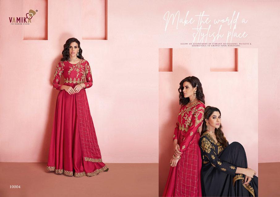 Sayna Soft Tapeta Silk Gown Catalogue Set