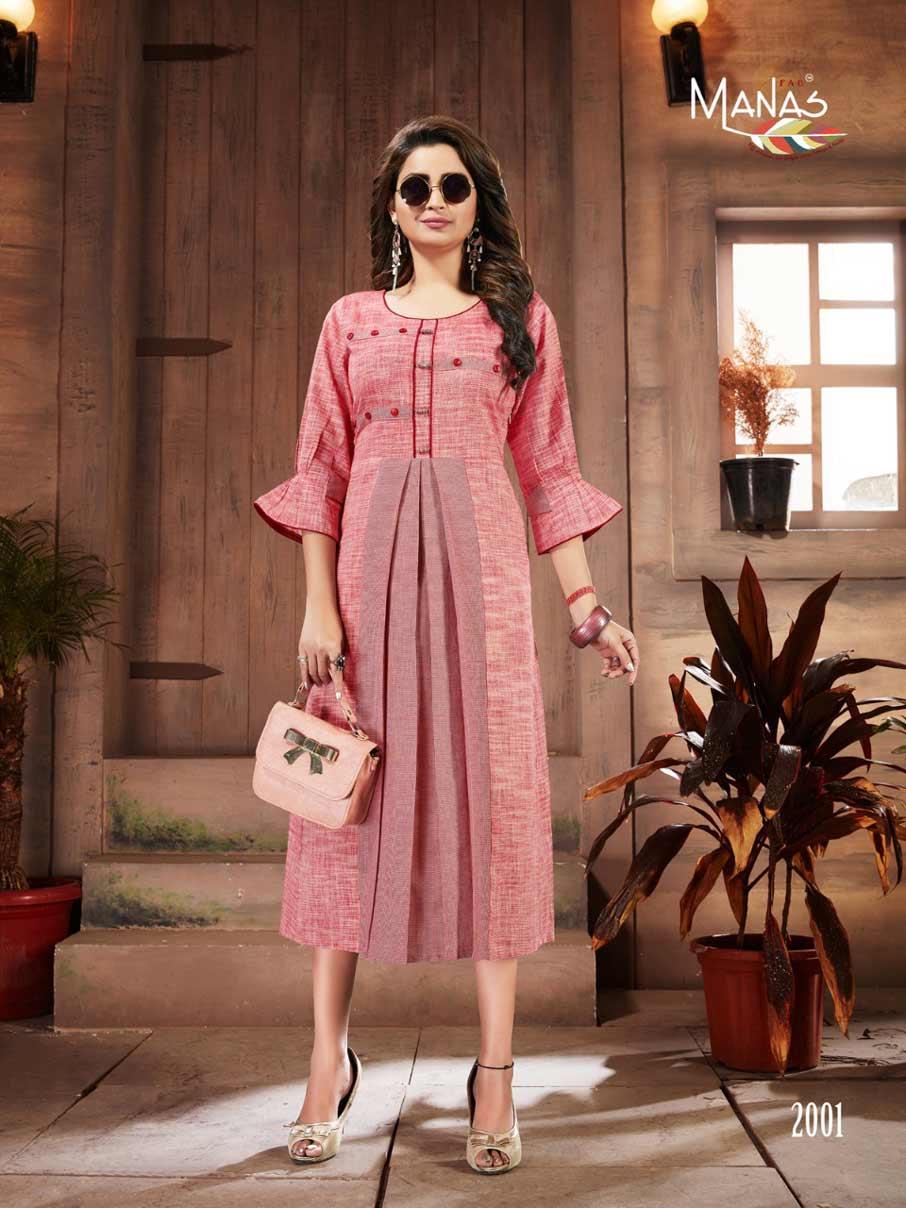 Shanvi Premium Cotton Kurti Catalog Set