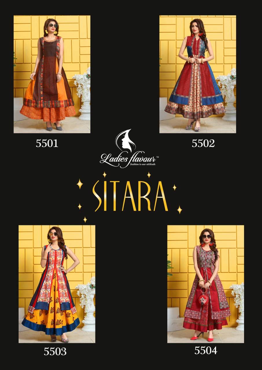 Sitara Ladies Flavour Musline Digital Print Kurti