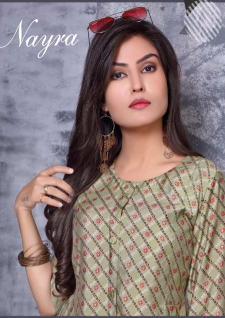 Suman Chanderi Kurti Catalogue Garment