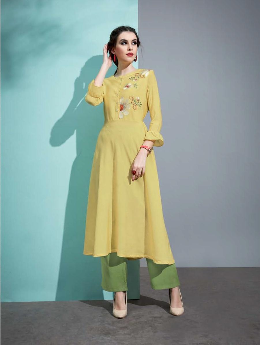 Ihram Kids For Sale Dubai: Vaarahi Vol-6 Amore Cotton Silk Embroidery Palazzo Kurtis
